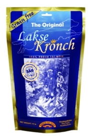 "Henne kronch 100 % zalmsnacks ""original"" 175 gr"