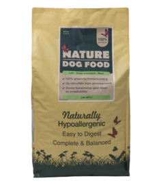Nature Dog Food lam & Munt 12 kg