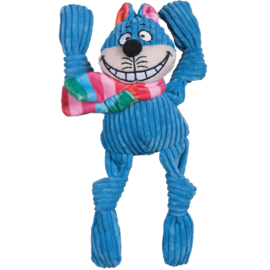 Hugglehounds Rainbow Cheshire Cat Knottie Small