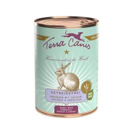 Terra Canis Graanvrij Konijn met Courgette en abrikoos  400 gr