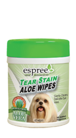 Espree Tear stain wipes 60 st
