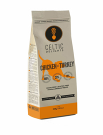 Celtic Connection Poultry treats 250 gr