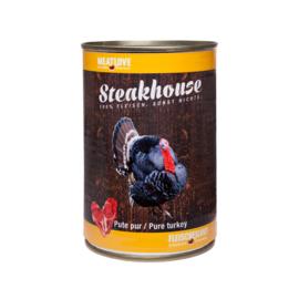 Steakhouse blik puur kalkoen 410 gr