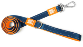 Max & Molly Short Leash - Orange