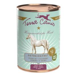Terra Canis Graanvrij Paard met Koolraap en Venkel 400 gr