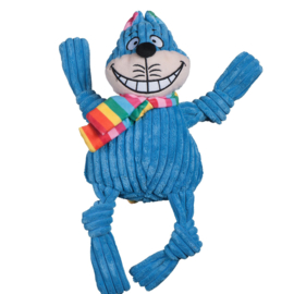 Hugglehounds Rainbow Cheshire Cat Knottie Large