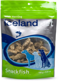 Icelandpet Treats Shrimp - Haring 100 gr