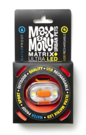 Max & Molly Matrix Ultra Led lampje oranje