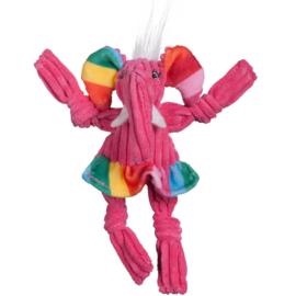 Hugglehounds Rainbow Elephant Knottie Wee