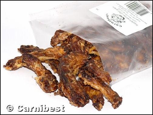 Carnibest Kippennekken 250gr/zak