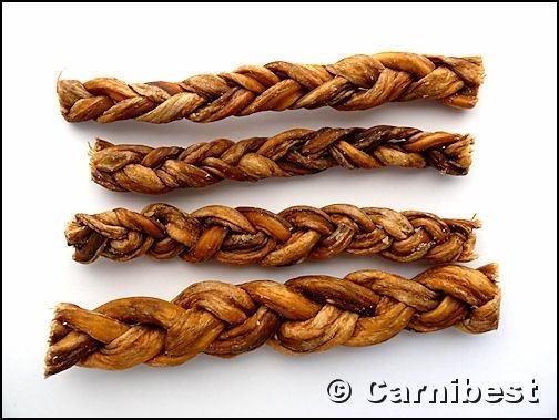 Carnibest Lams vleessticks gevlochten 100gr/zak