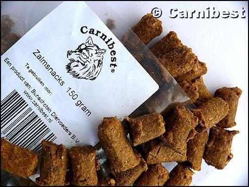 Carnibest Zalmsnacks 150gr/zak