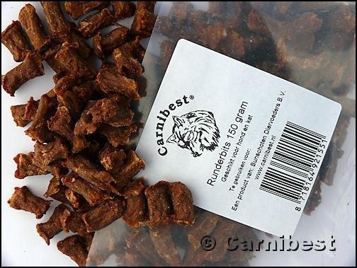 Carnibest Runderbits 150 gr