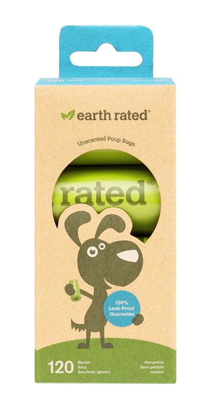 Earth Rated poepzakjes 120 st geurloos