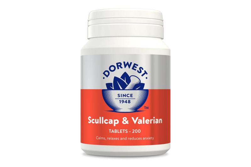 Dorwest Scullcap & Valerian 200st