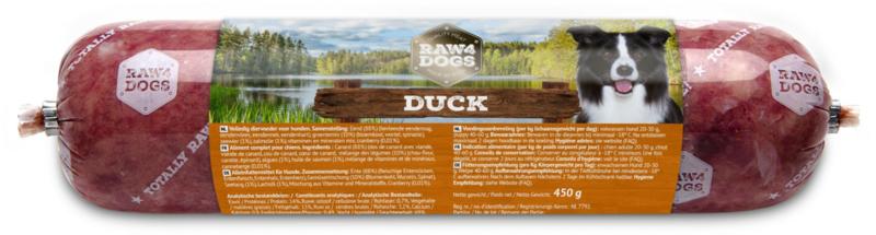 Raw4dogs Duck 450 gr