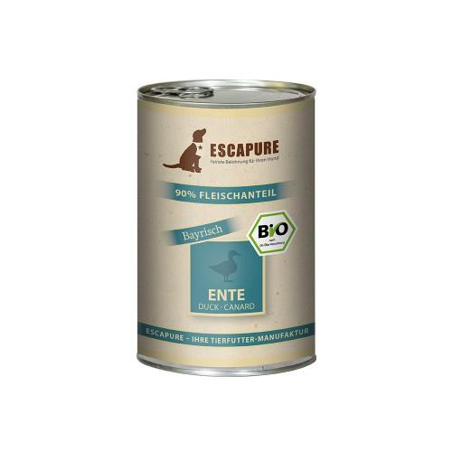 Escapure blikvoeding BIO Eend 400 gr