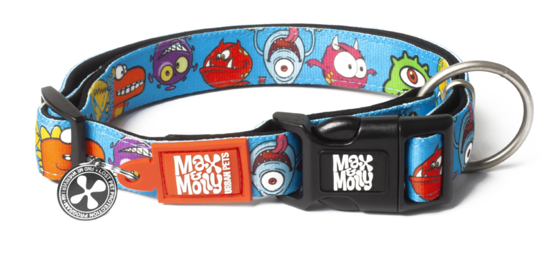 Max & Molly Smart ID Halsband - Little Monsters