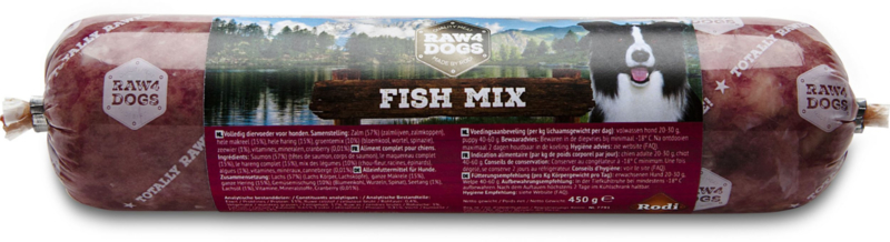Raw4dogs Fish menu 450 gr