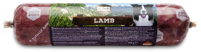 Raw4dogs Lamb 450 gr