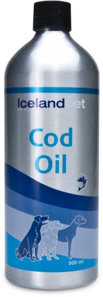 Icelandpet kabeljauw olie 500 ml