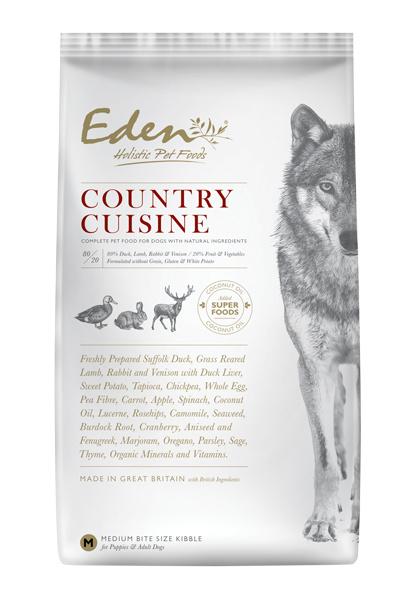 Eden Country Cuisine (Eend, lam, Konijn & Hert)