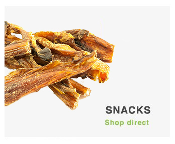 Natuurlijk gedroogde snacks Hond | Natuurlijk voor de hond
