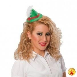 Tiara Mini Oktoberfest hoedje groen