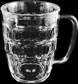 Bierpul - 50 cl - Transparant - 6 stuks |