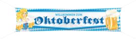 Straatbanner Oktoberfest Bier