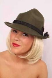 Tiroler hoed luxe wolvilt
