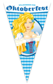 Mega vlag oktoberfest Bier
