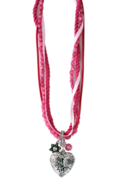 Ketting tiroler luxe roze