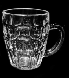 Bierpul 35 cl - Transparant - 6 stuks