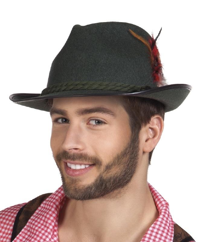 Oktoberfest hoed Walter grijs