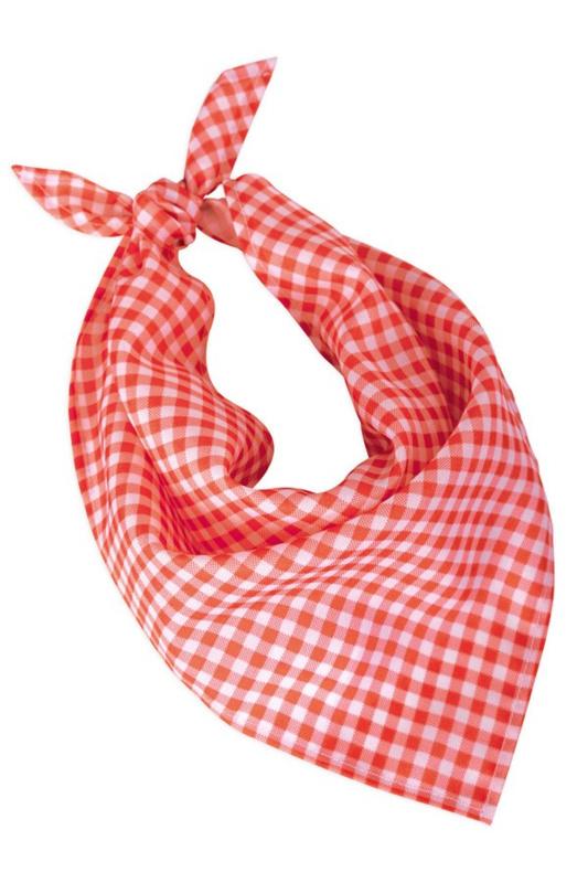 Oktoberfest halsdoek rood wit