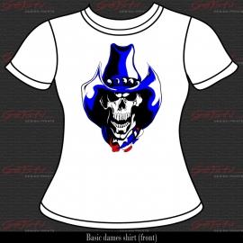 Cowboy Skull 03
