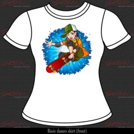 Skater Girl 03