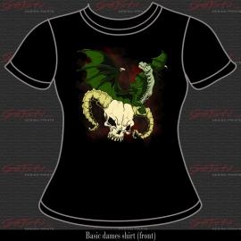 Dragon and skull 01