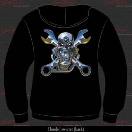 Motor Mechanic Skull 09