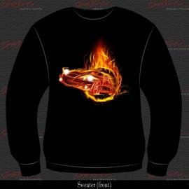 Flaming Car 11