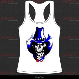 Cowboy Skull 16