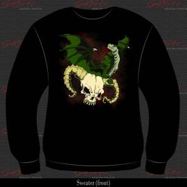 Dragon and skull 11
