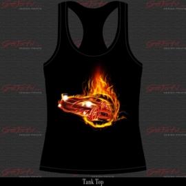 Flaming Car 15