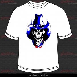 Cowboy Skull 07