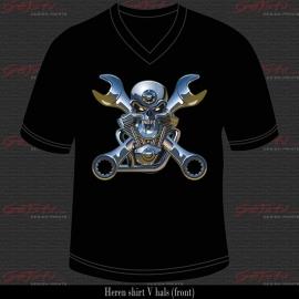 Motor Mechanic Skull 06