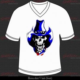 Cowboy Skull 08
