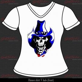 Cowboy Skull 04