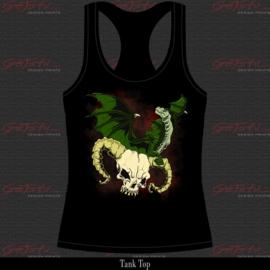 Dragon and skull 15