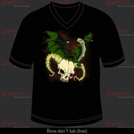 Dragon and skull 06